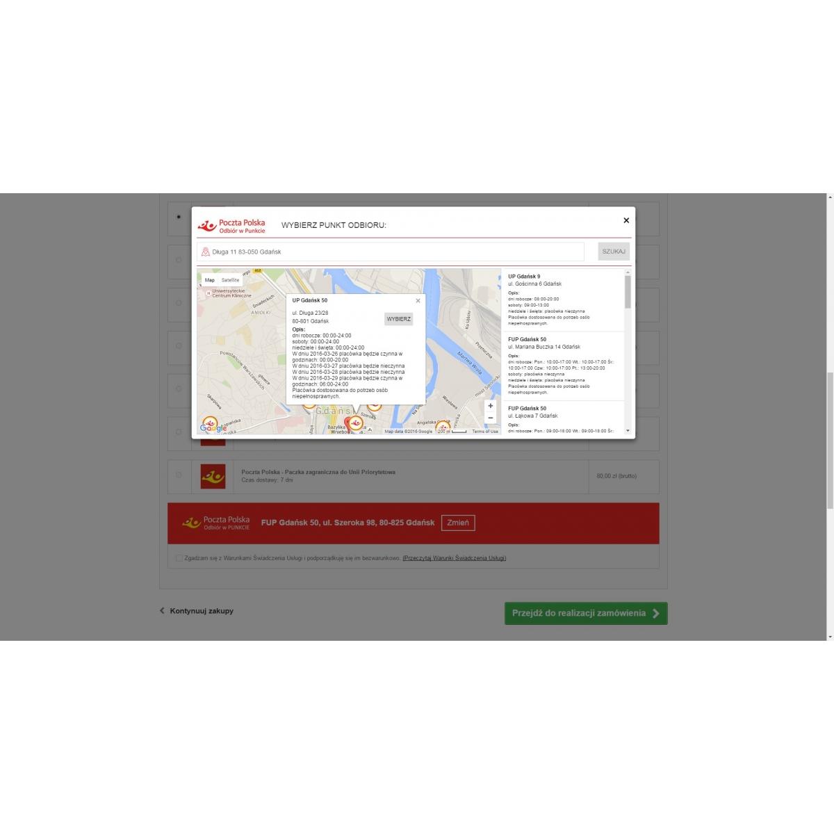 f95ff2da2e9c79 Integracja prestashop z poczta polska e-nadawca