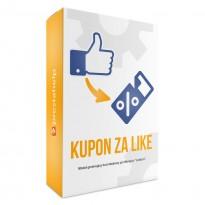 [moduł]Facebook Fan Kupon