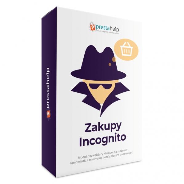 Zakupy incognito do prestashop 1.6 oraz 1.7